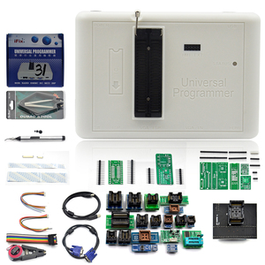 Image 1 - 100% oryginalny programator RT809H emmc nand niezwykle szybki uniwersalny programator + 35 przedmiotów + kabel Edid + ssanie pióra