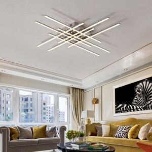 Image 2 - Modern Led Chandelier Lighting For Living room Bedroom Restaurant kitchen Ceiling Chandelier Chrome Plating Indoor lighting