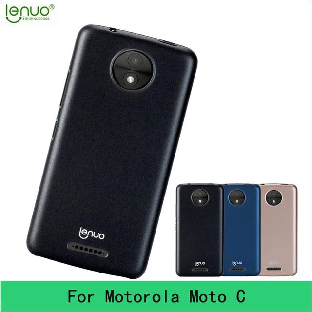 moto c case. for motorola moto c case original lenuo hight quality hard back cover phone t