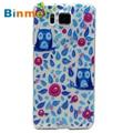 Hot selling Binmer Fashion Painted Pattern Diamond Soft TPU Back Case Cover For Samsung Galaxy Alpha Alfa G850 1pc