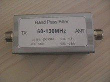 60-130MHz bandpass filter anti jamming band pass high low