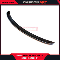 New product car rear trunk wing spoilers winglets For tesla model s 75d 90d 60 100d car accessories