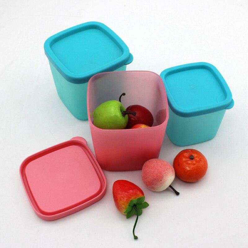 Candy Color Plastic Food Storage Box Grains Tank Storage Kitchen Sorting Food Storage Box Container Sealed Crisper