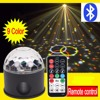 Bluetooth 9Colors Remote Control USB MP3 9LED RGB Magic Crystal Ball Ktv Disco Party Colorful Stage
