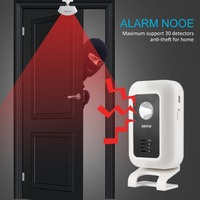 Securi M7 Split WIFI Wireless Welcome Doorbell Alarm with Smart Motion Sensor Curtains Infrared Motion Detector