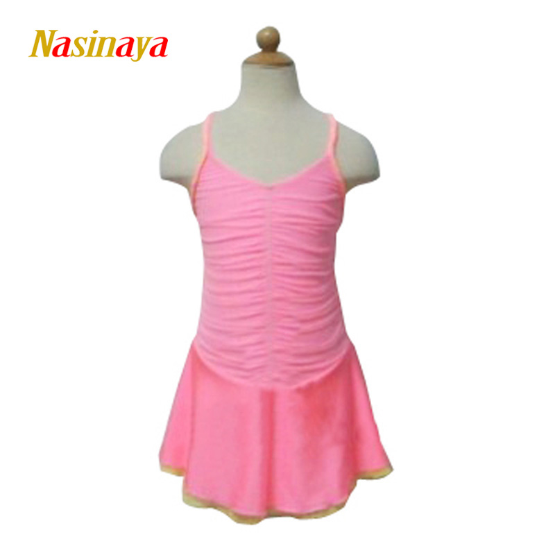 Nasinaya Figure Skating Dress Customized Competition Ice Skating Skirt for Girl Women Kids Patinaje Gymnastics Performance 201