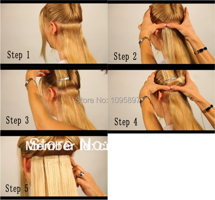 How To Make Homemade Hair Extensions Images Hair Extensions For