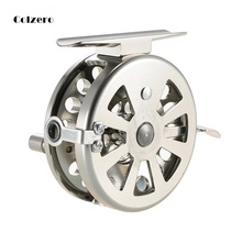 цены Fly Fishing Reel Mini Right Handed Smooth Rock Ice 1:1 Fishing Reels Fish Line Wheel  Ultra-light Winter Fishing Tackle Ice Reel