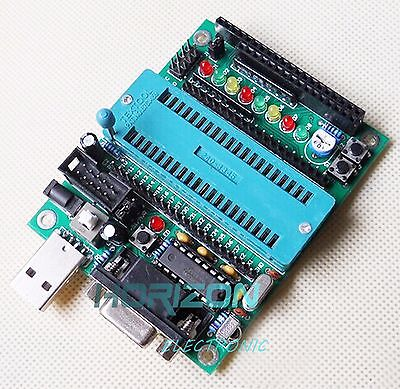 C51 AVR MCU Development Board DIY Learning Board Kit Parts And Components