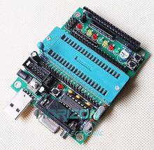 C51 AVR MCU مجلس التنمية لتقوم بها بنفسك لوحة تعليمية عدة أجزاء ومكونات
