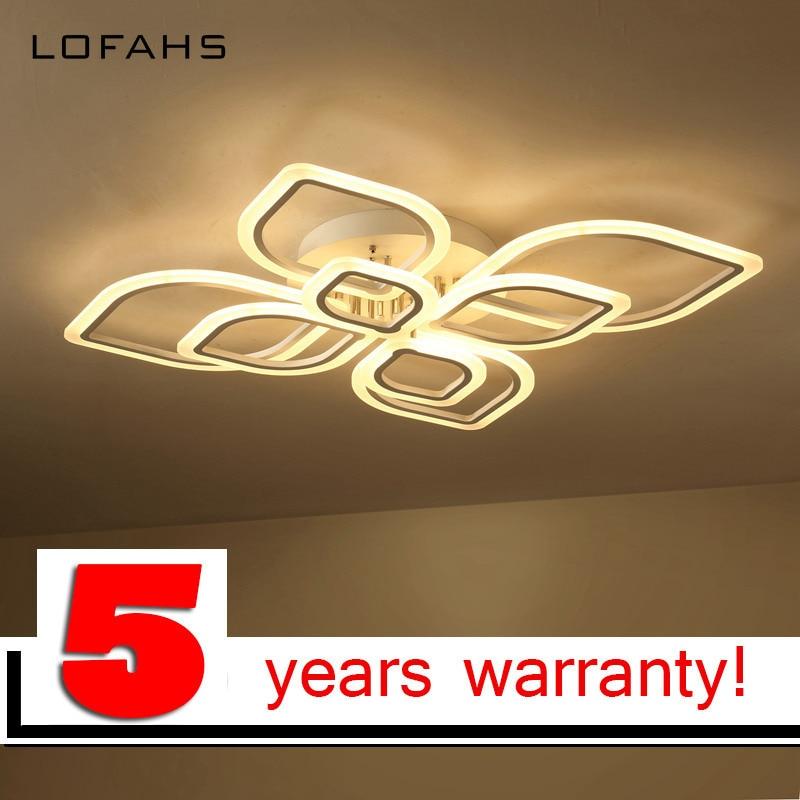 LOFAHS modern led chandeliers for living room bedroom dining room acrylic Indoor home ceiling chandelier lamp lighting fixtures