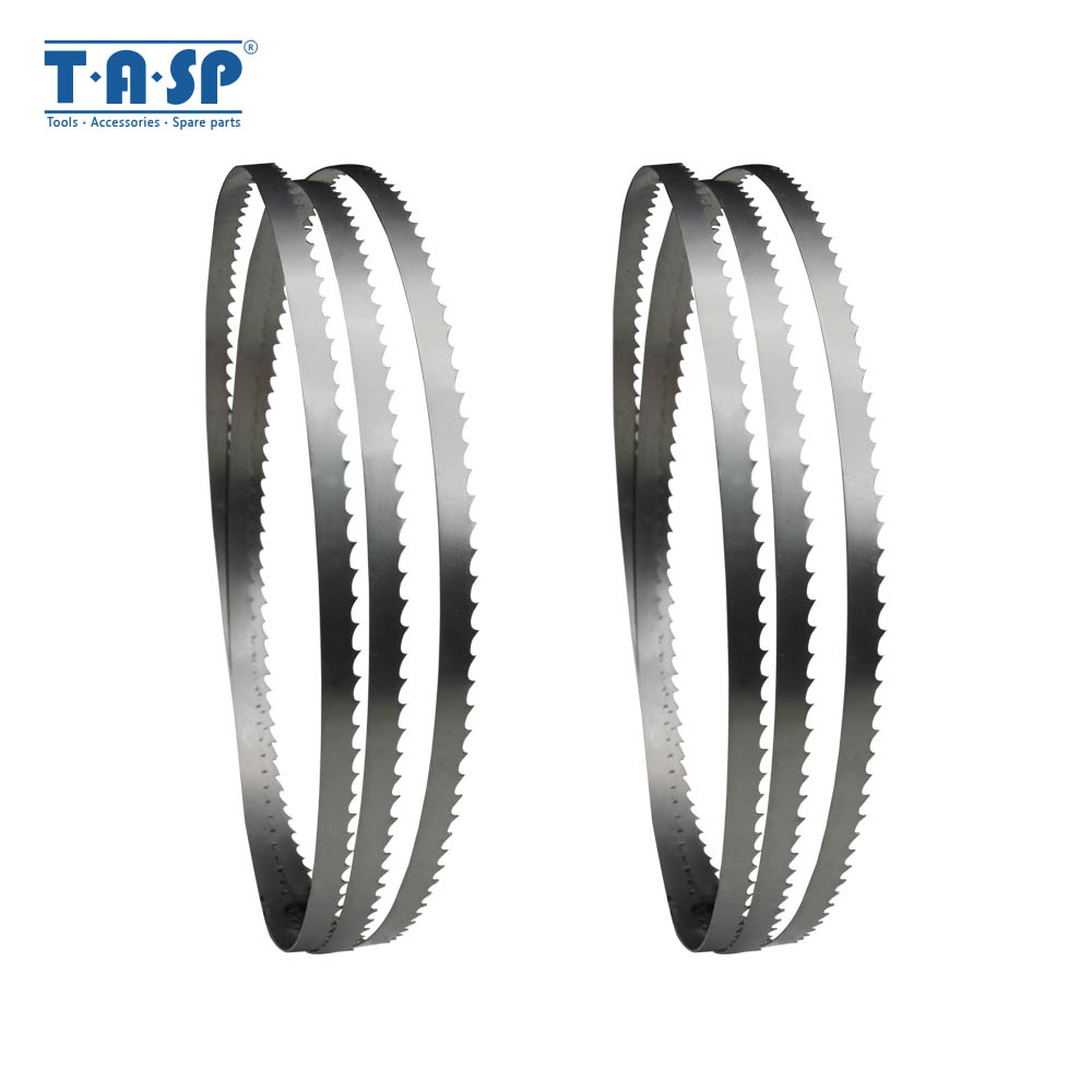 TASP 2pcs Band Saw Blade 1425 X 6.35 X 0.35mm Bandsaw Blades Woodworking Tools For Wood Cutting TPI 6 10 14