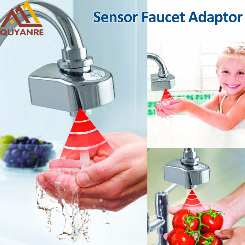 Quyanre Water Conservation Infrared Sensor Faucet Touchless ...