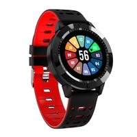 CF58 Relógio Inteligente Homens Relógio À Prova D' Água rastreador De Fitness monitor de freqüência cardíaca Esportes Smartwatch para huawei telefone Relógios inteligentes     -
