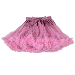 ; пышные шифоновые юбки-американки для малышей; 21 цвет; юбки-пачки для девочек; фатиновая юбка принцессы для танцевальной вечеринки; Нижняя юбка; - Цвет: dusty pink