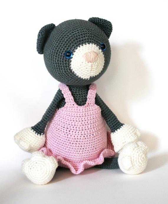 Teddys Augen Für Katzen Spielzeug Teddybär Machen Stofftier Puppe Tier Amigurumi Craft