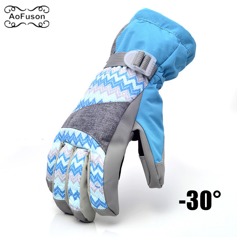 Ski Snowboard Gloves Mittens Windproof Waterproof Breathable Winter Warm Cycling Skiing Hiking Snow Women Men Thermal Glove NEW