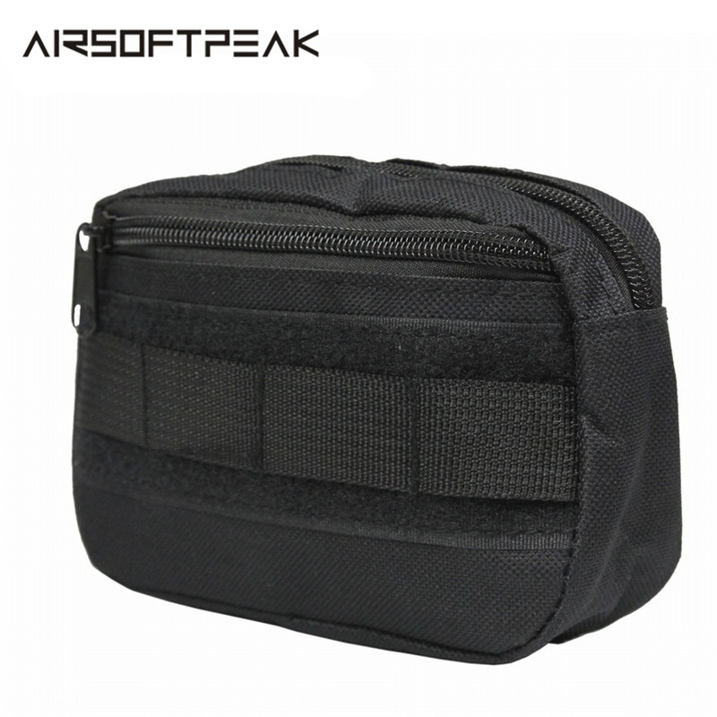 Tactical Pocket Organizer EDC Pouch Hunting Pack Tool Bag Small Army Utility Field Sundries Pouches Military Belt Pouch Backpack