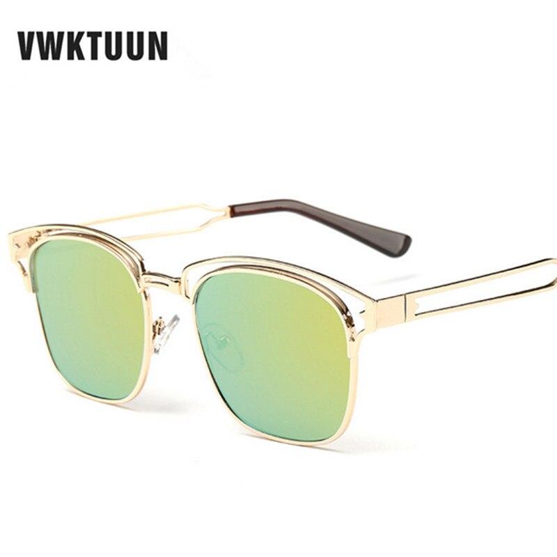 VWKTUUN Moldura Quadrada Óculos De Sol Femininos Espelho Sombra Óculos  Marca Designer Óculos de Sol Do Vintage das Mulheres Para As Mulheres Oculos  Feminino e8d1492694