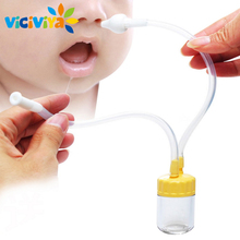 New Born Child Security Nostril Cleaner Vacuum Suction Nasal Aspirator Snot Nostril Cleaner Child Care New child Wholesome Care Handy !