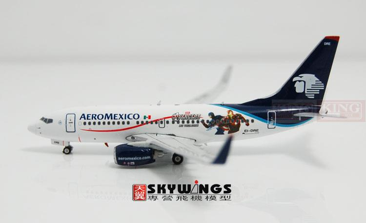 Phoenix 4025 Mexico Airlines EI-DRE 1:400 B737-700/w commercial jetliners plane model hobby