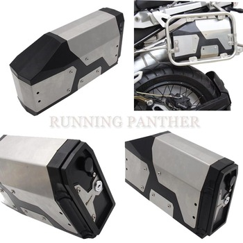 All New For BMW R1200GS/R1250GS LC Adventure 2014-2019 Decorative Aluminum Box Toolbox 4.2 Liters Tool Box Left Side Bracket