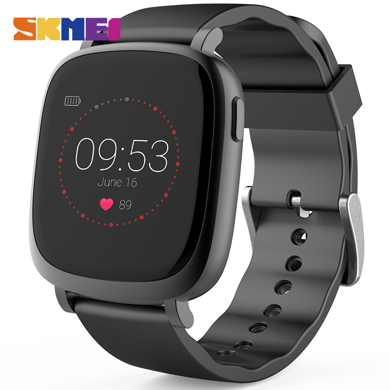 mens watch ratings promotion shop for promotional mens watch skmei men s watches fashion digital wristwatches distance record women watch smart bracelet heart rate monitor casual watch l42a