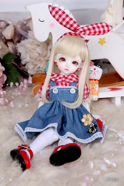 1/6 BJD Doll BJD/SD Honey Delf Hanaels Lovely Doll With Eyes For Baby Girl Birthday Gift  3