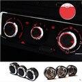3 pçs/set Instalação de Ar Condicionado Interruptor de controle de calor AC knob para Mazda 6, Carro styling acessórios do carro