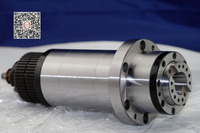 cnc spindle bt30 synchronous belt drive for milling machine ATC petal clamp disc spring drawbar tool high speed 90mm