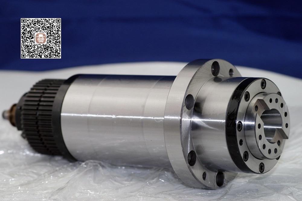 Trasmissione a cinghia sincrona mandrino bt30 bt30 per fresatrice ATC morsetto a molla a disco attrezzo a timone a molla ad alta velocità 90mm