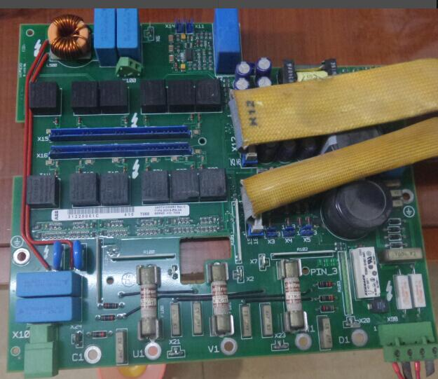 SDCS-PIN-3B teardown DCS400 series dc speed regulator power board/driver board/main board absorption c98043 a7011 l2 dc speed control board teardown garage