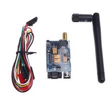 цена на LEACO RC Helicopter 5.8G 400mw FPV 8Ch wireless Audio Video Transmitter TS351 MINI for quadcopter drone