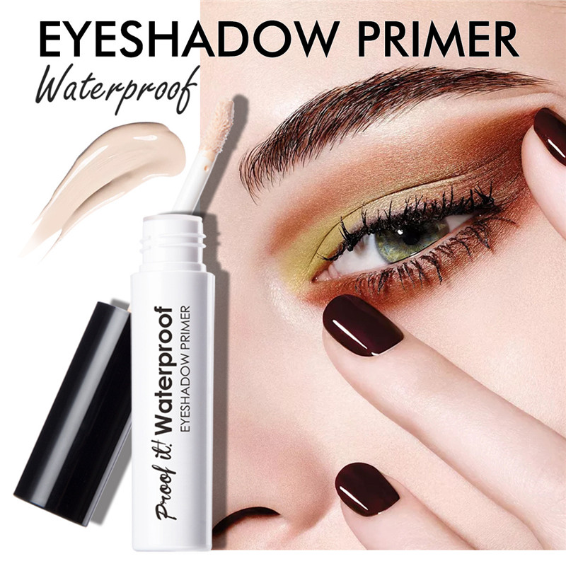 Professional Makeup Eyeshadow Primer Eye Base Moisturizing Liquid Primer Longlasting Waterproof Concealer Women Cosmetics Eyelid image