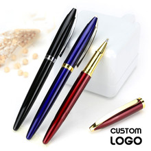 1pc Personalise Business High-end Gift Gel Pen Metal Ball Hotel Ad Student Office Stationery Laser Lettering Custom LOGO