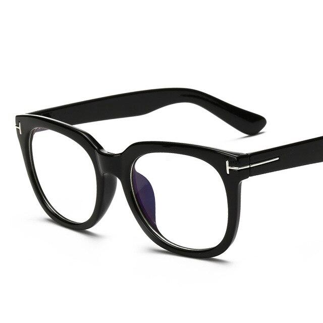 138db486210 Luxury Computer Glasses Frames Men Clear Lens TF Myopia Glasses Fashion  Eyeglasses Women Frame Eyewear armacao