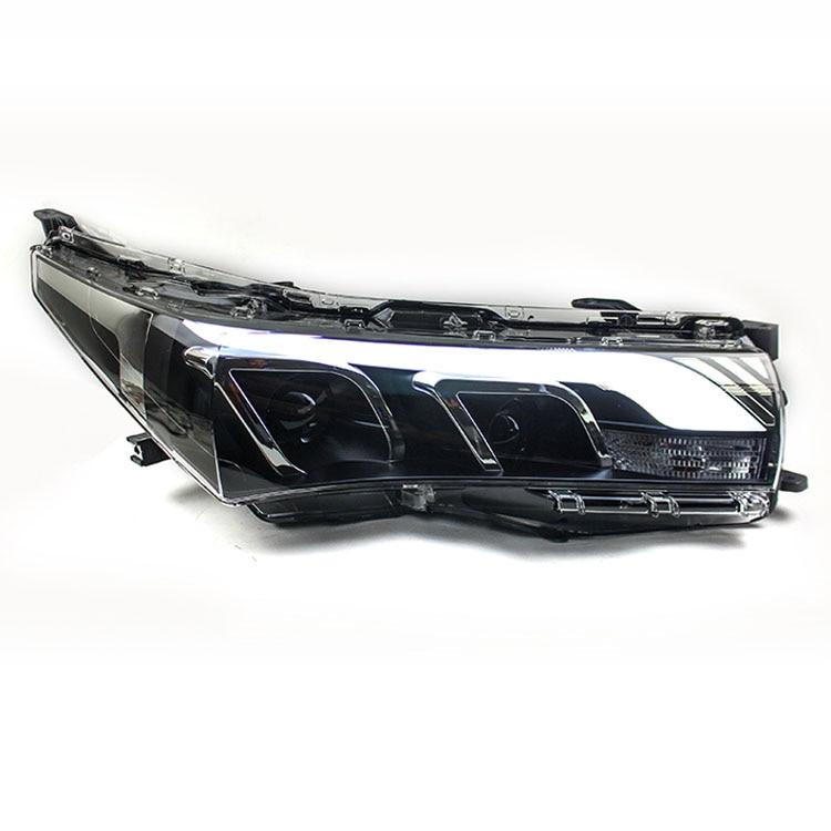New Eagle Eyes LED DRL Bi-xenon Projector Lens Headlights For Toyota Corolla 2014 2016