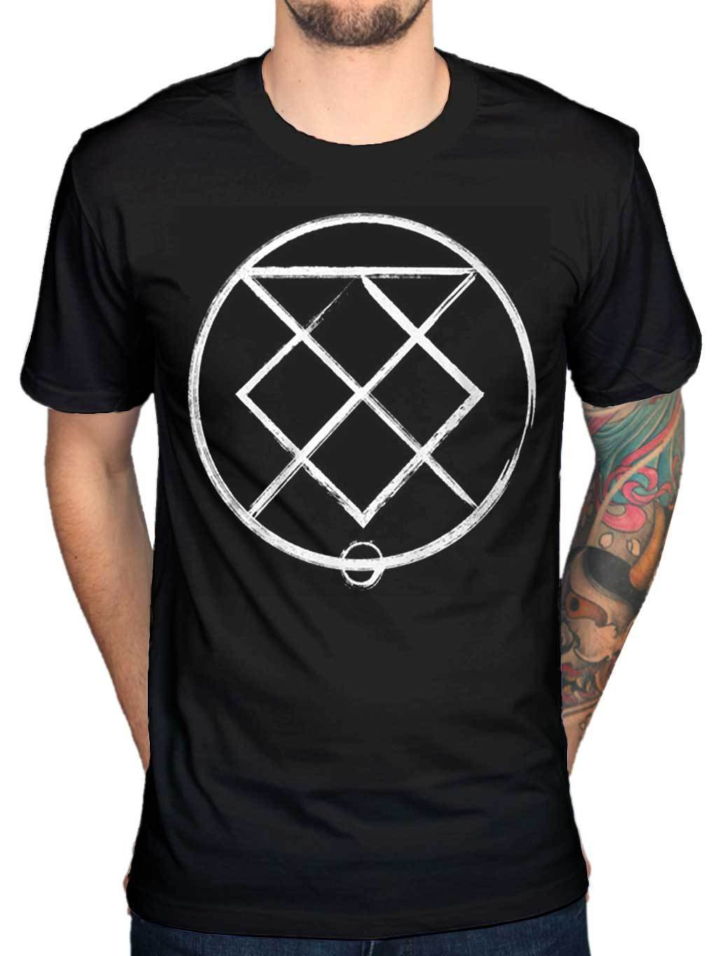 Official Bury Tomorrow Runes T Shirt Metal Rock Indie Portraits Union Of Crowns Novelty Cool Tops