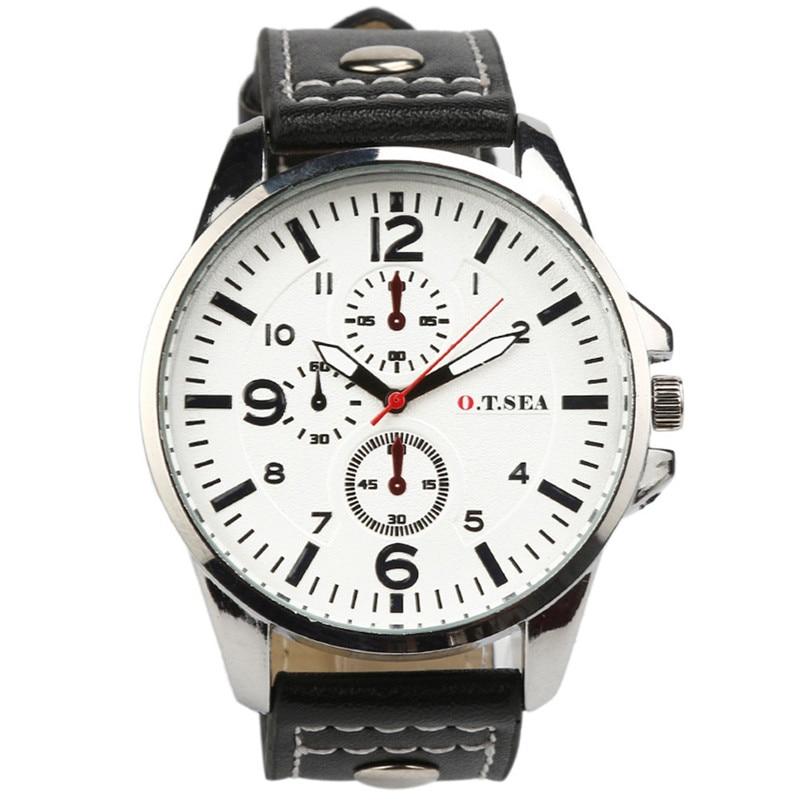 Irisshine I06 high quality Men watches brand  2016 Men's Sports Quartz Watches Mens Watches Luxury Leather Wristwatches