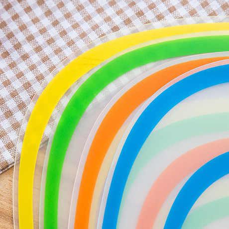 1 шт. гибкий кухонный пластиковый разделочный блок разделочная доска макет нескользящий матовый Антибактериальный режущий блок