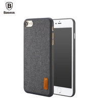 BASEUS PP Fabric Stylish Back Case For IPhone 7 7 Plus Mobile Phone Cover For IPhone