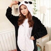 Wholesale Animal Onesies Unisex Adult Winter Panda Onesie Anime Cosplay Costume Flannel Pajamas Sets Sleepwear