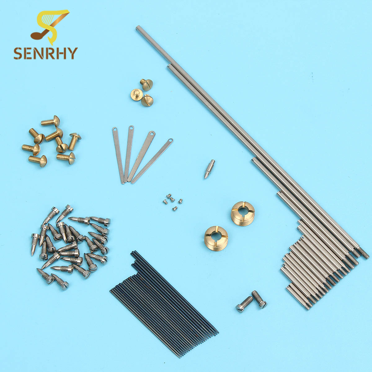 1Set Alto Sax Repair Parts New Screws+Saxophone Springs For Saxophone Woodwind Instruments Parts & Accessories