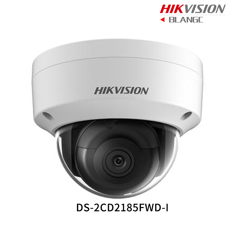 Hikvision Hik 4K Original English Security Camera DS-2CD2185FWD-I 8MP H.265+ Mini Dome CCTV Camera WDR IP Camera POE IP67 IK10 hikvision 3mp low light h 265 smart security ip camera ds 2cd4b36fwd izs bullet cctv camera poe motorized audio alarm i o ip67
