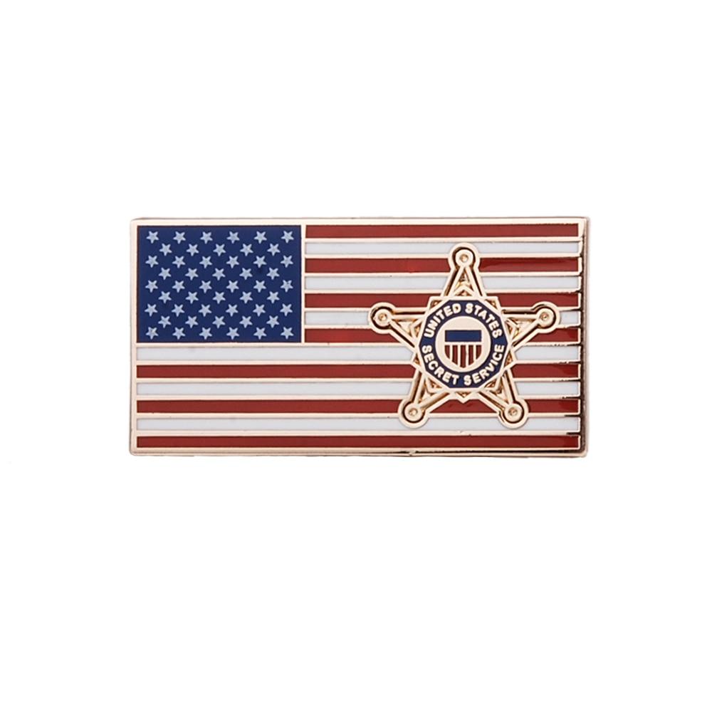 US SECRET SERVICE METAL CHEST PIN BADGE