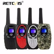 2 шт. Retevis RT628 детей Портативная рация дети Радио PMR 0.5 Вт PMR446 8/22CH VOX PTT ЖК-дисплей Дисплей Mini 2 способ HF Радио трансивер