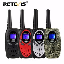 2 шт. Retevis RT628 Портативная рация мини-детский Радио ПМР ФРС 0.5 Вт PMR446 8/22CH VOX PTT ЖК-дисплей Дисплей детей 2 варианта Радио трансивер