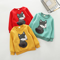 Fashion Baby Infants Toddler Kids Boys Girls Fox Style Long Sleeve Cotton Hoodie Shirt T-shirt Tee Tops Fleece Blouse for 2-6Y