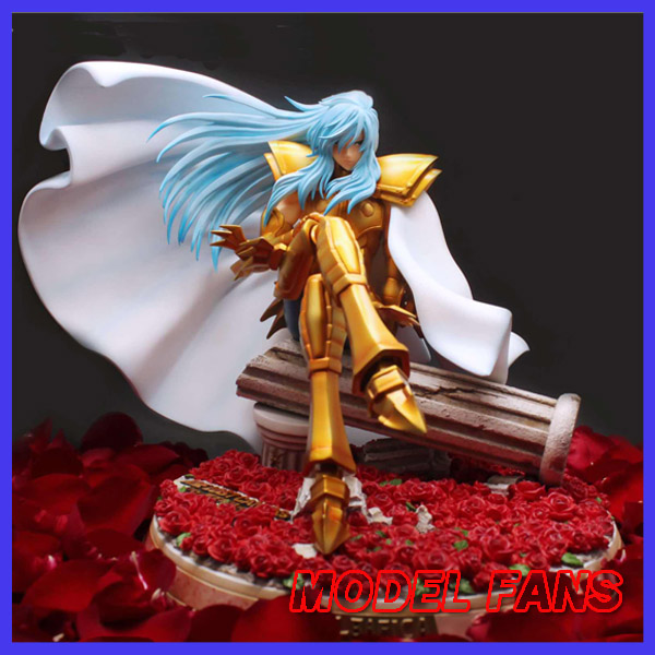 MODEL FANS INSTOCK Saint Seiya gold Saint 27cm THE LOST CANVAS Pisces Albafica / Arubafika GK resin statue figure for Collection model fans saint seiya bronze saint 55cm shiryu mount lu rise dragon gk resin statue figure for collection