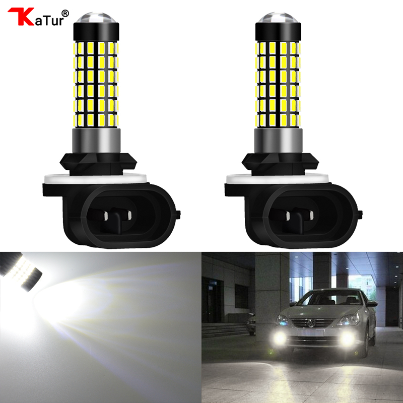 Car Headlight Bulbs(led) 100% True 2 Pieces H27 881 Led Bulb For Cars H27w/2 H27w2 Auto Fog Light Led 780lm 12v 881 Led Bulbs Driving Driving Running Light Catalogues Will Be Sent Upon Request